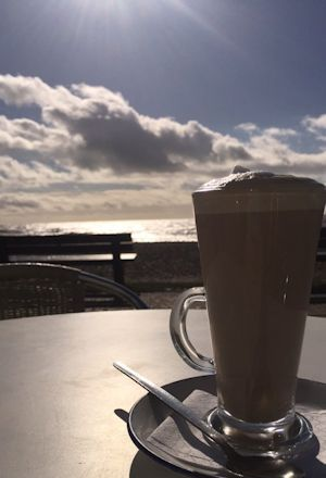 Sea Lane Cafe latte
